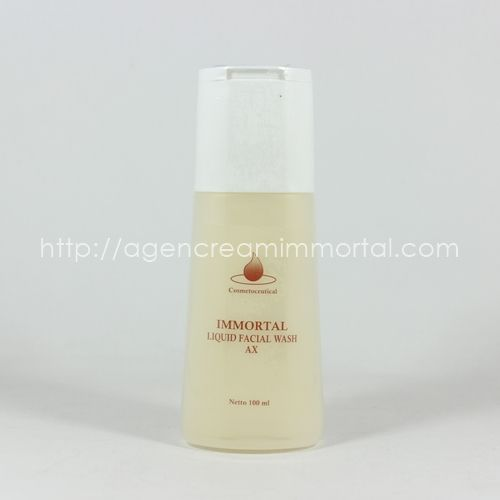 Immortal Facial Wash Acne AX
