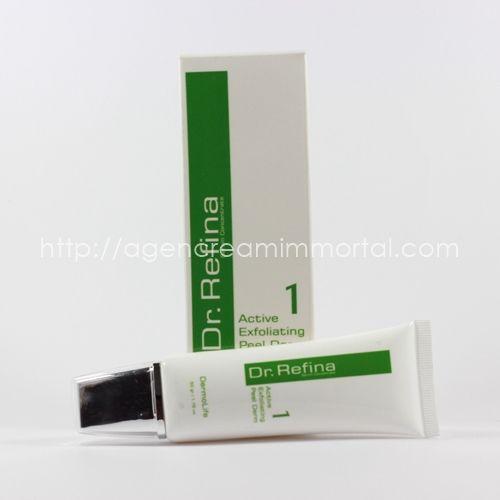 Dr Refina Active Exfoliating Peel Derm 1 agen immortal
