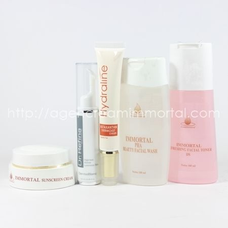 paket normal kering agen cream immortal