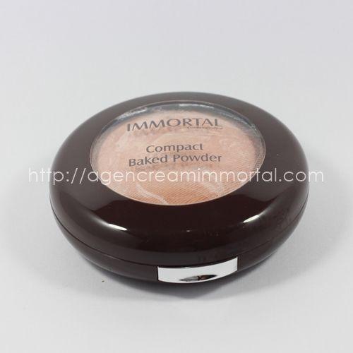 compact baked powder warm beige