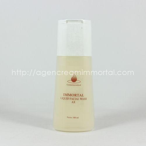 Immortal Facial Wash Acne AX