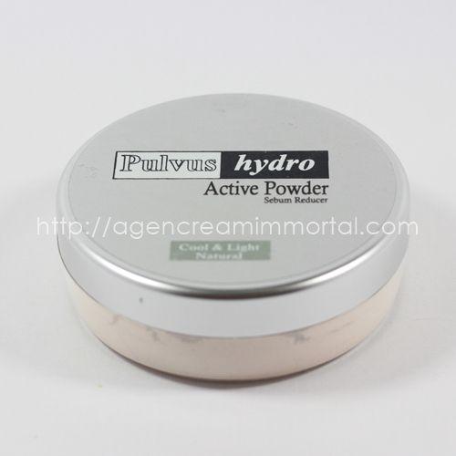 immortal loose powder sebum reducer natural1