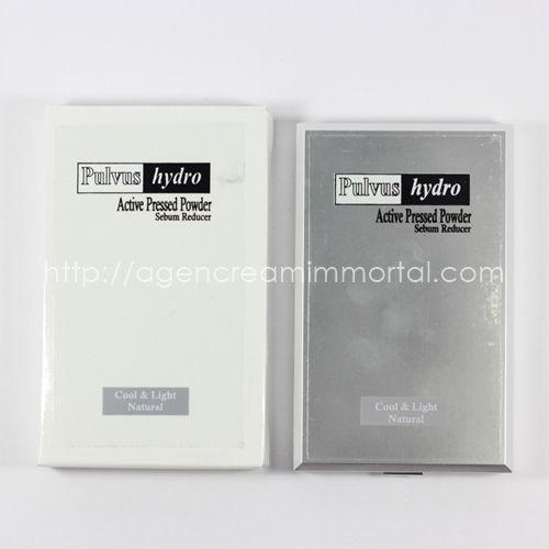 Pulvus Hydro Active Pressed Powder Sebum Reducer Natural